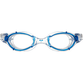 arena Nimesis Crystal Zwembril Medium, clear-clear-blue